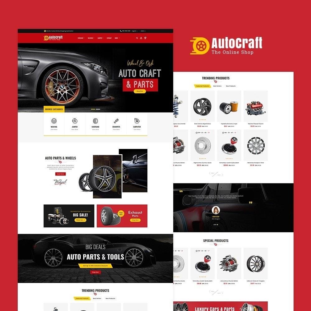 theme - Automotive & Cars - Auto Crafts & Parts - 2