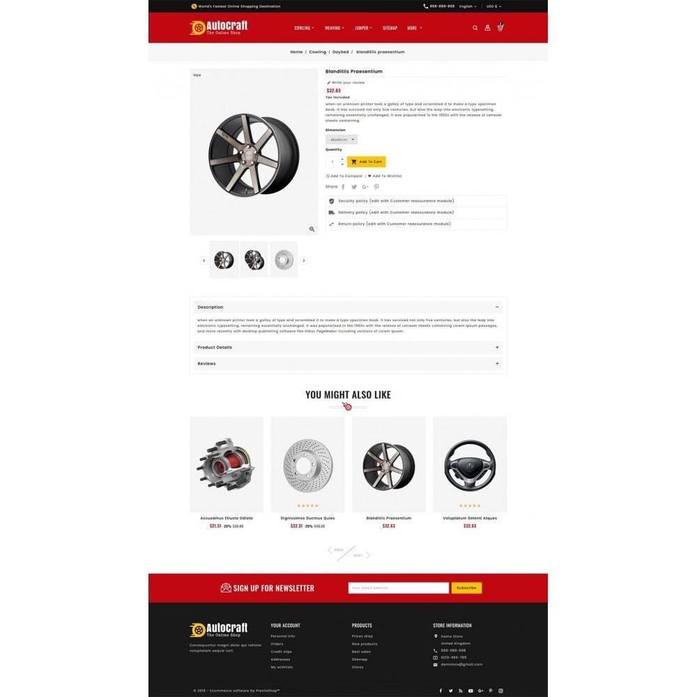 theme - Automotive & Cars - Auto Crafts & Parts - 5