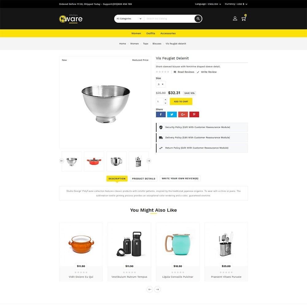 theme - Dom & Ogród - Kitchenware Online Store - 6