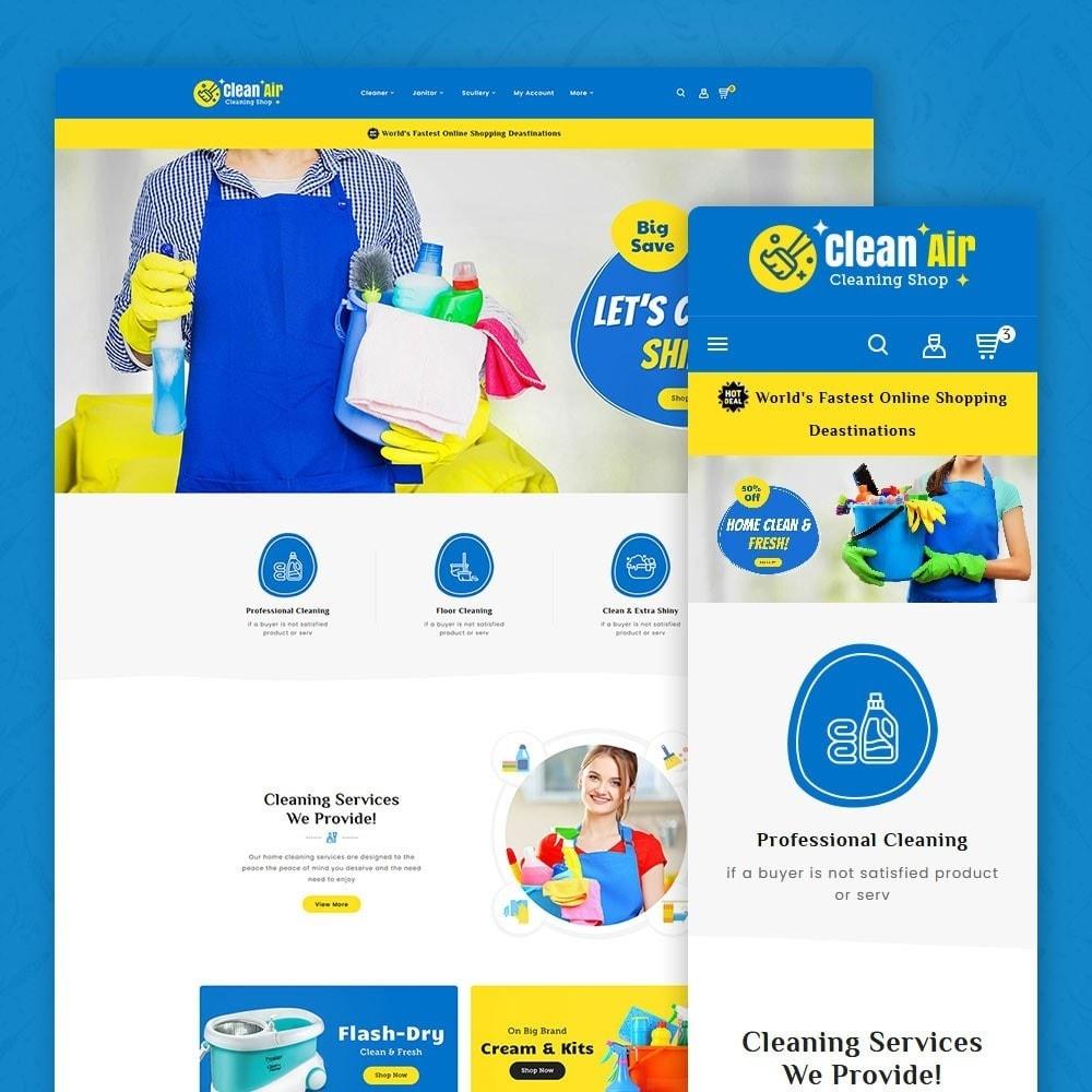 theme - Home & Garden - Clean Air - Housing Service - 1