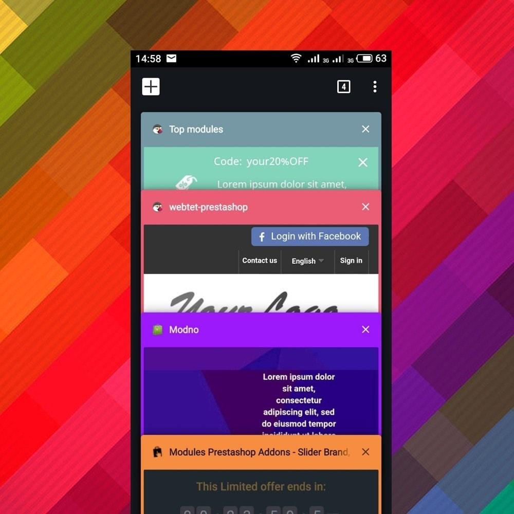 module - Адаптация страницы - Address Bar Tab Color in Mobile Browser - 2