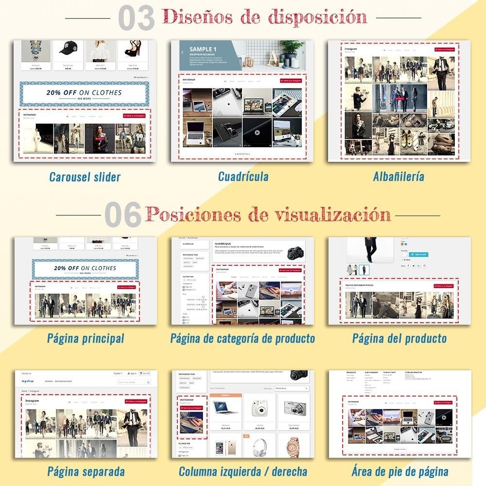 module - Sliders y Galerías de imágenes - INS Shopping Slider - Integración de redes sociale - 2