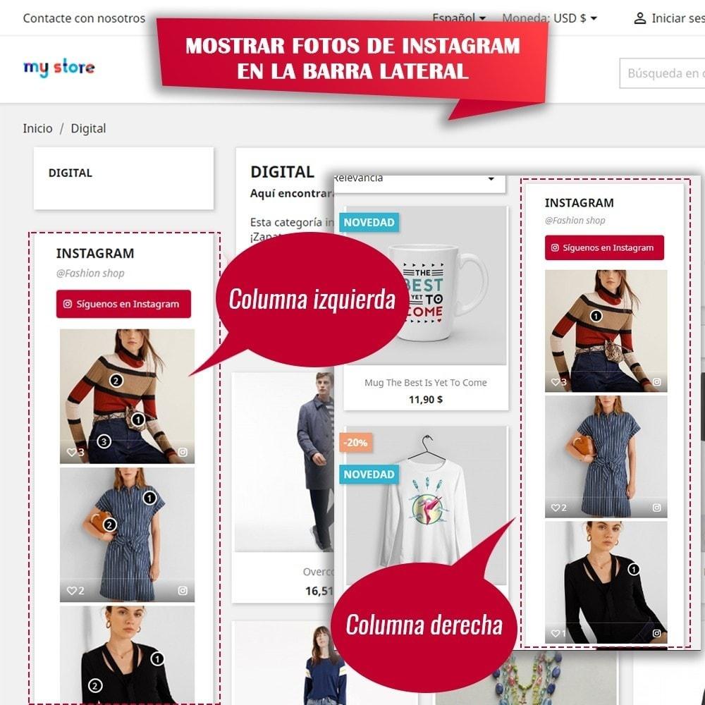 module - Sliders y Galerías de imágenes - INS Shopping Slider - Integración de redes sociale - 10