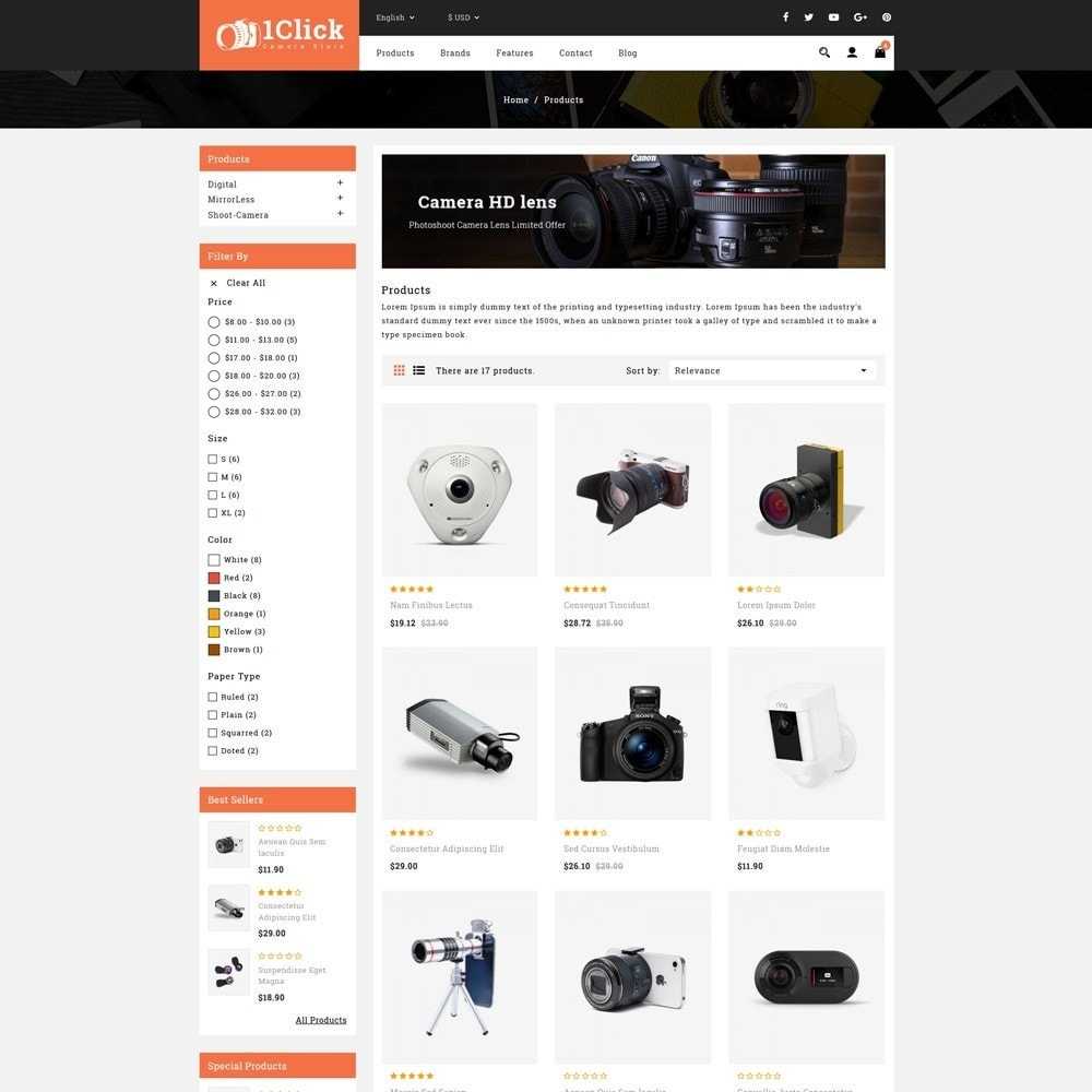 theme - Электроника и компьютеры - Click Camera Store - 3