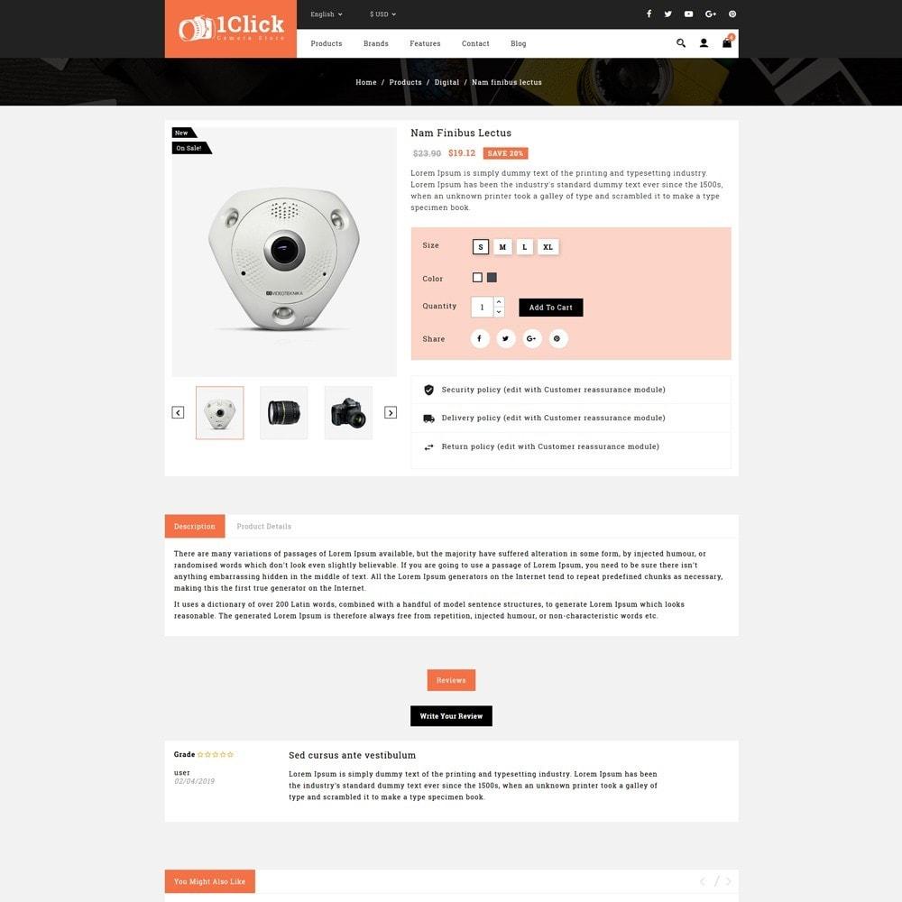theme - Электроника и компьютеры - Click Camera Store - 4