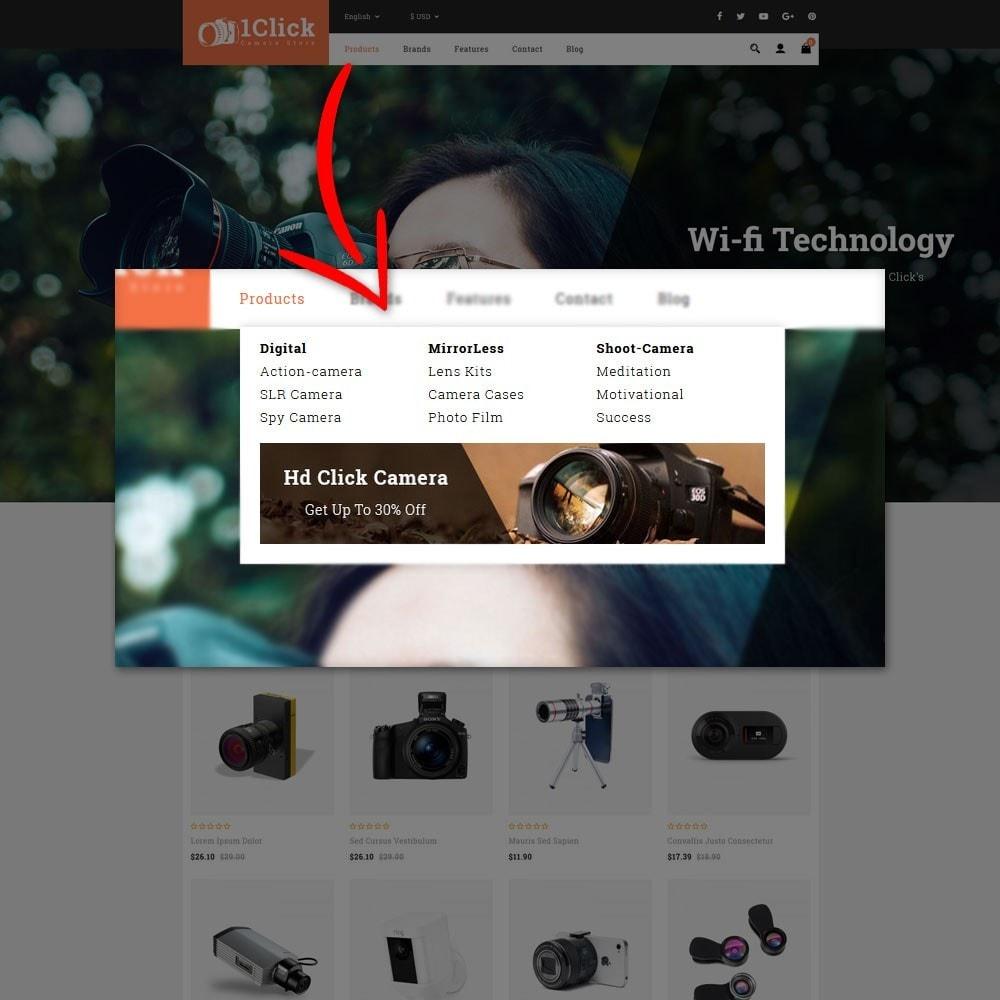 theme - Электроника и компьютеры - Click Camera Store - 7