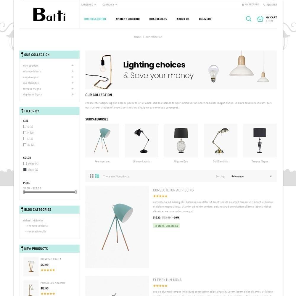 theme - Casa & Giardino - Batti - The Lighting Store - 5