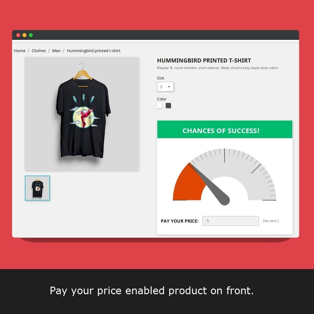module - Promoties & Marketing - Pay Your Price - Custom Price - 11