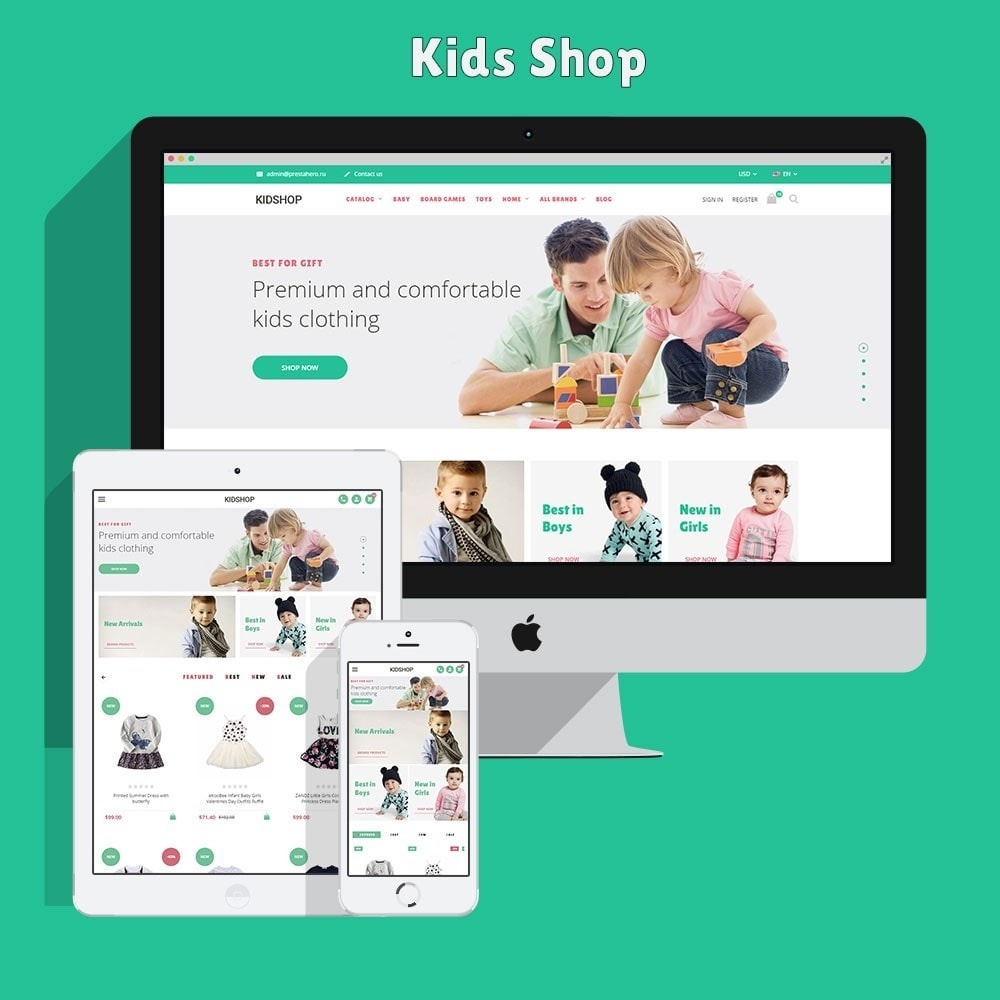 theme - Kids & Toys - KidsWear - Kids Clothes Store - 2