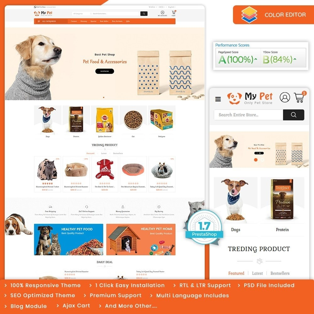 theme - Animales y Mascotas - My Cute Pet  Store - The Specials Pet Store - 1