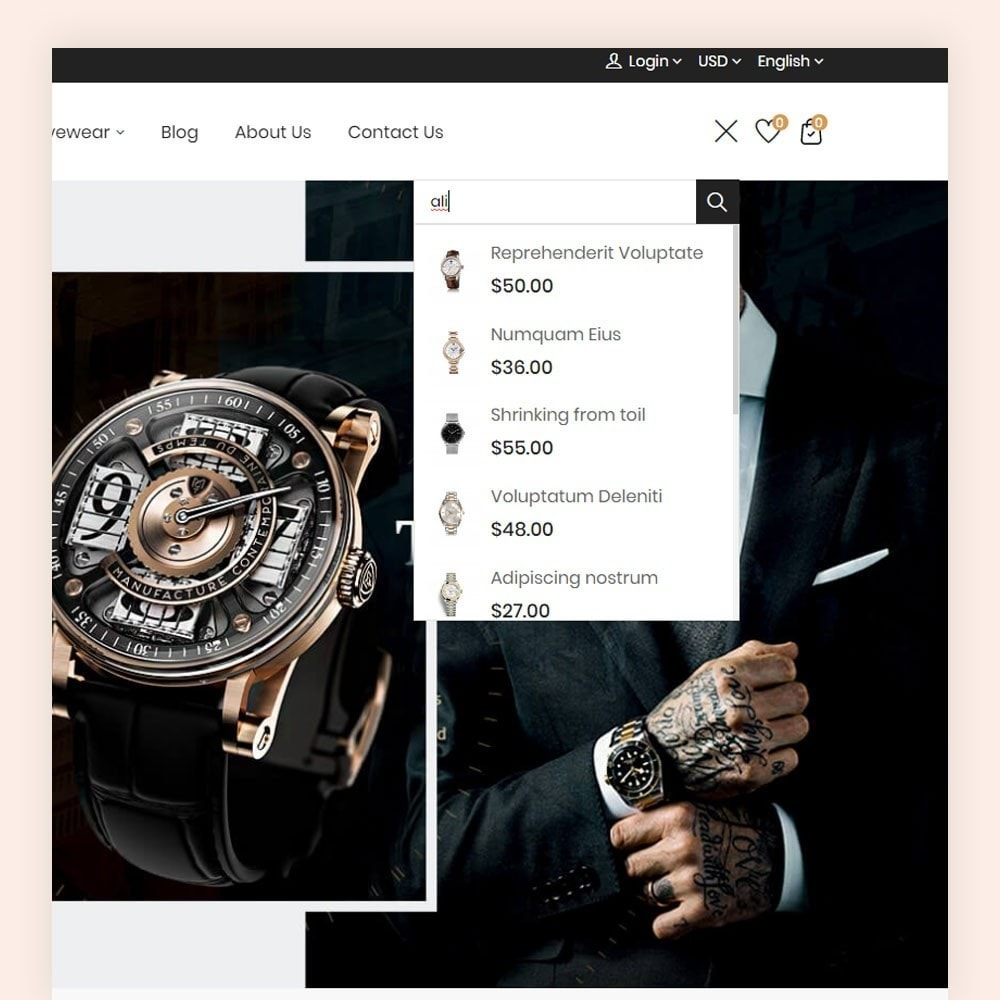 theme - Moda & Calçados - Rangex Watch Store - 3
