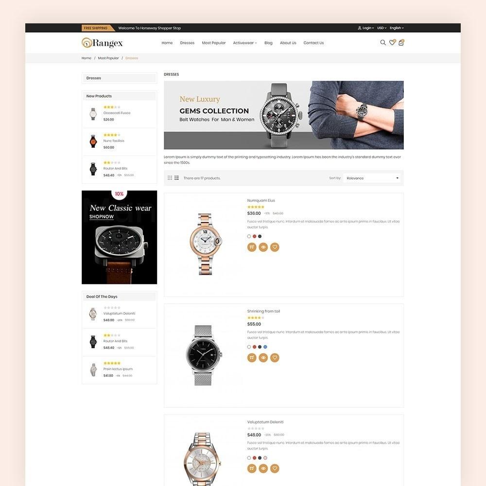 theme - Moda & Calçados - Rangex Watch Store - 6