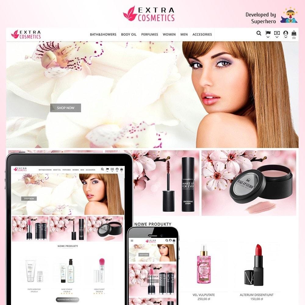 theme - Zdrowie & Uroda - Extra Cosmetics - 2