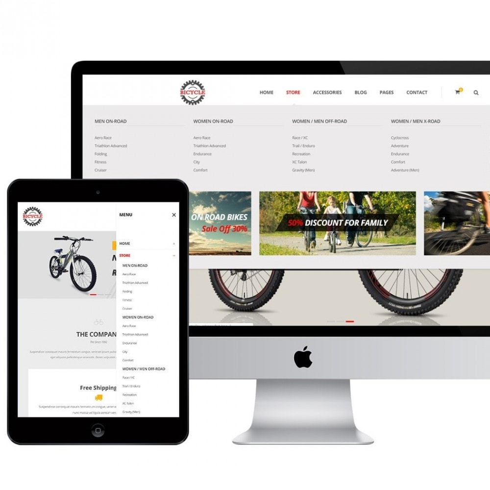 theme - Sports, Activities & Travel - Bicycle Store - 2