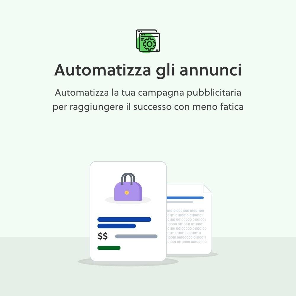 module - Indicizzazione a pagamento (SEA SEM) & Affiliazione - Cobiro - Marketing automatico di Google - 4