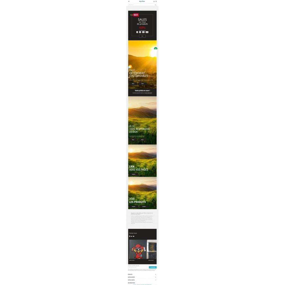 module - Ventes Flash & Ventes Privées - Compte à rebours en page d'accueil - 2