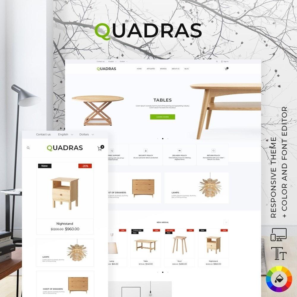 theme - Hogar y Jardín - Quadras - 1