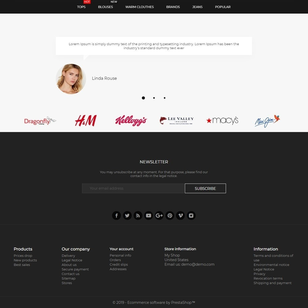 theme - Fashion & Shoes - Infinity Fashion Store - 4
