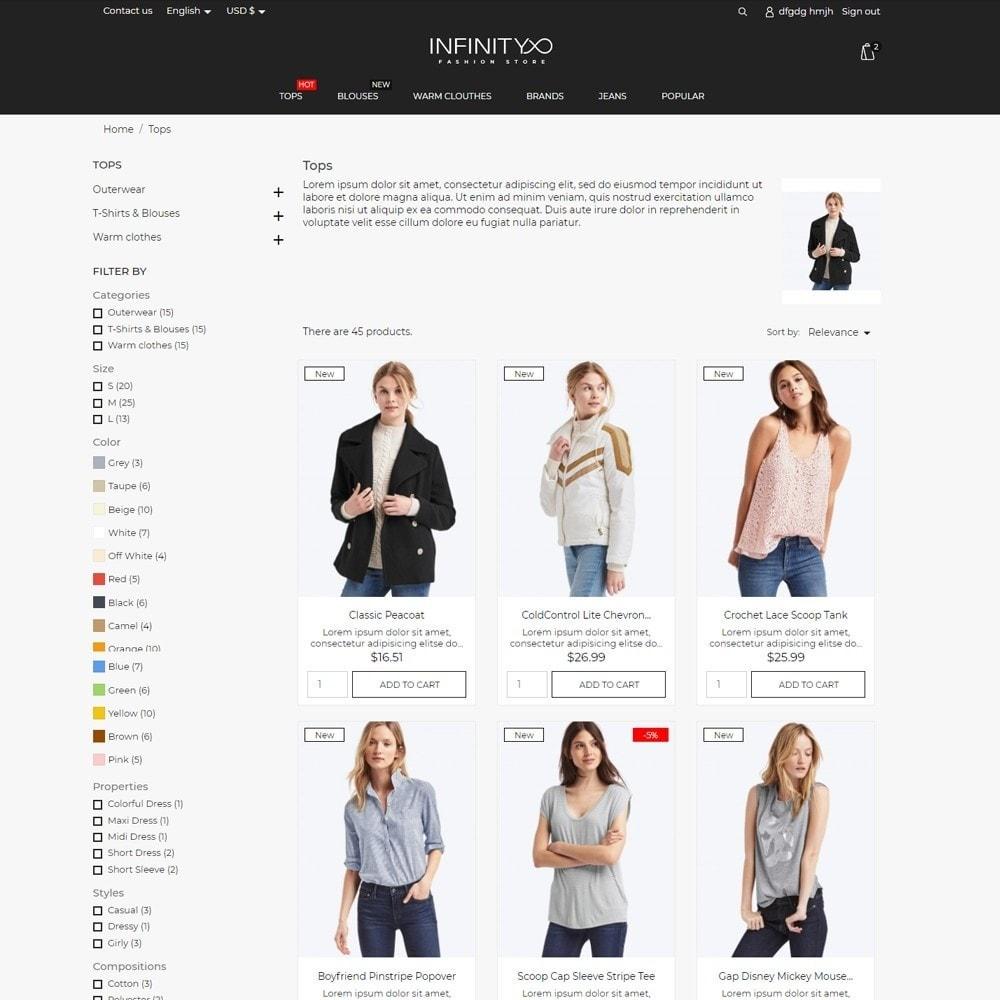 theme - Moda & Calzature - Infinity Fashion Store - 5