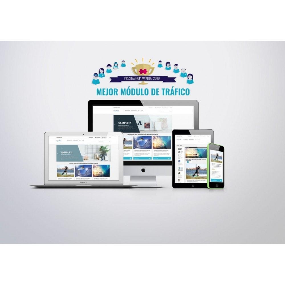 module - Blog, Foro y Noticias - Prestablog: un blog profesional para tu tienda - 1