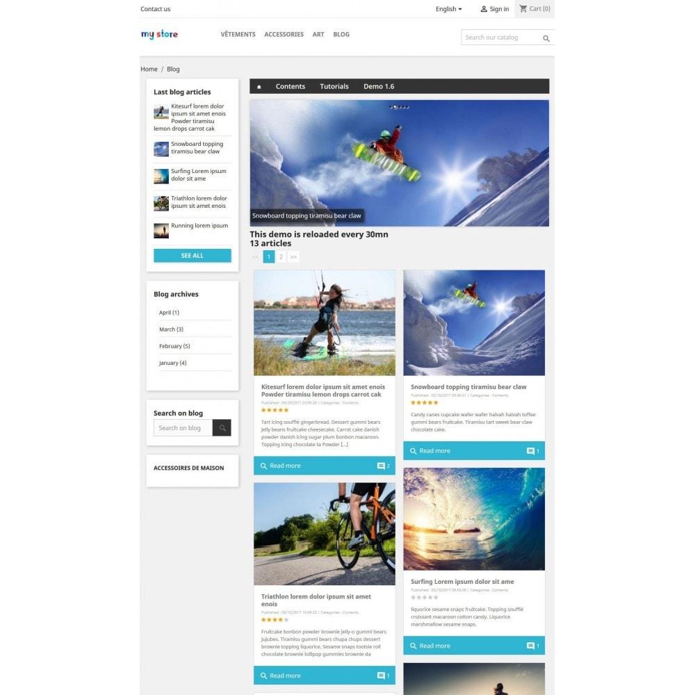 module - Blog, Forum & News - Professionelles Blog Modul - 3