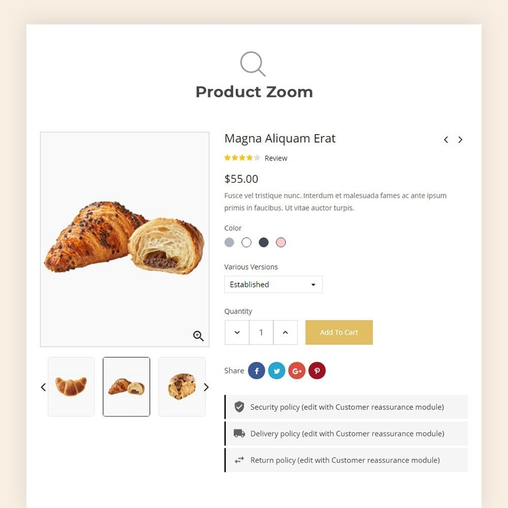 theme - Продовольствие и рестораны - Bread bakery Store - 8