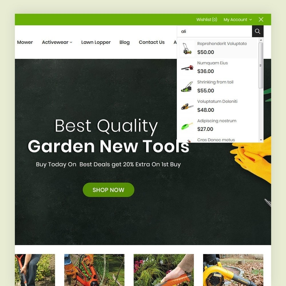theme - Dom & Ogród - Gtools Garden Tools Store - 3