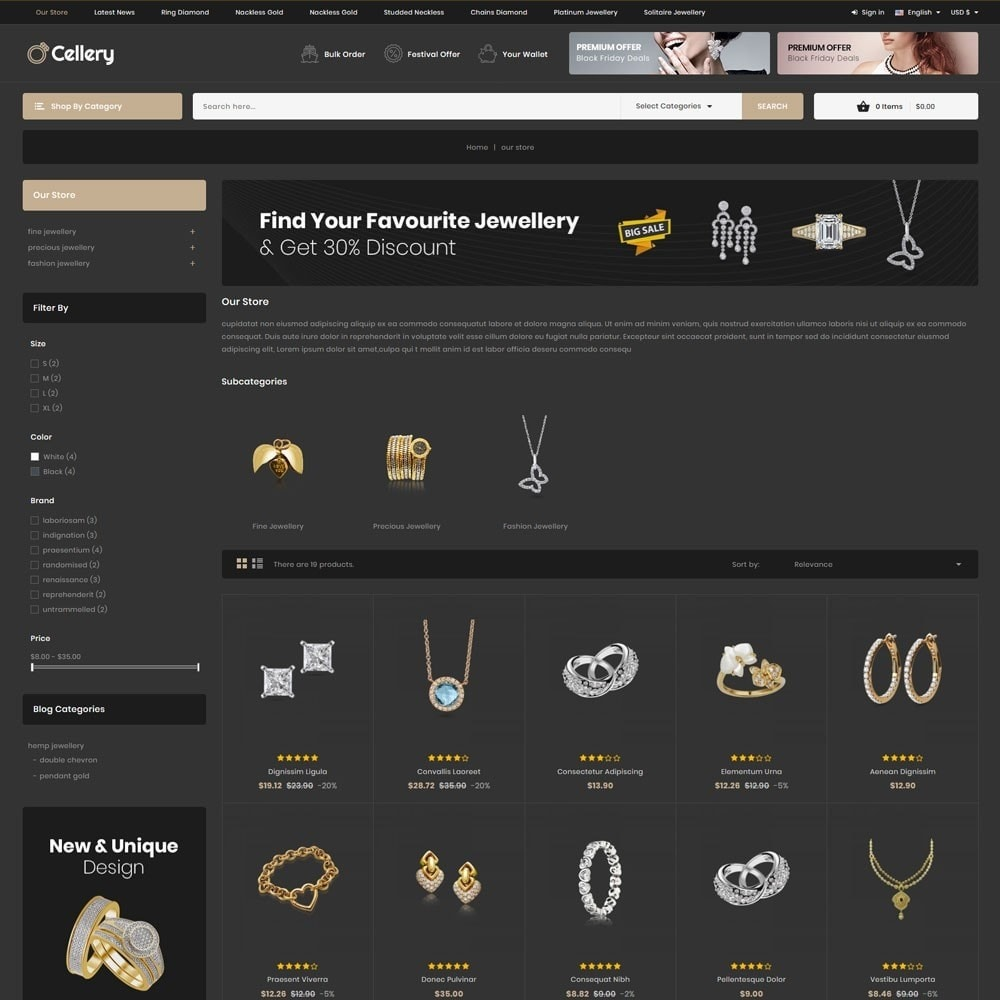 theme - Jewelry & Accessories - Cellery - The Mega Jewellery Store - 5