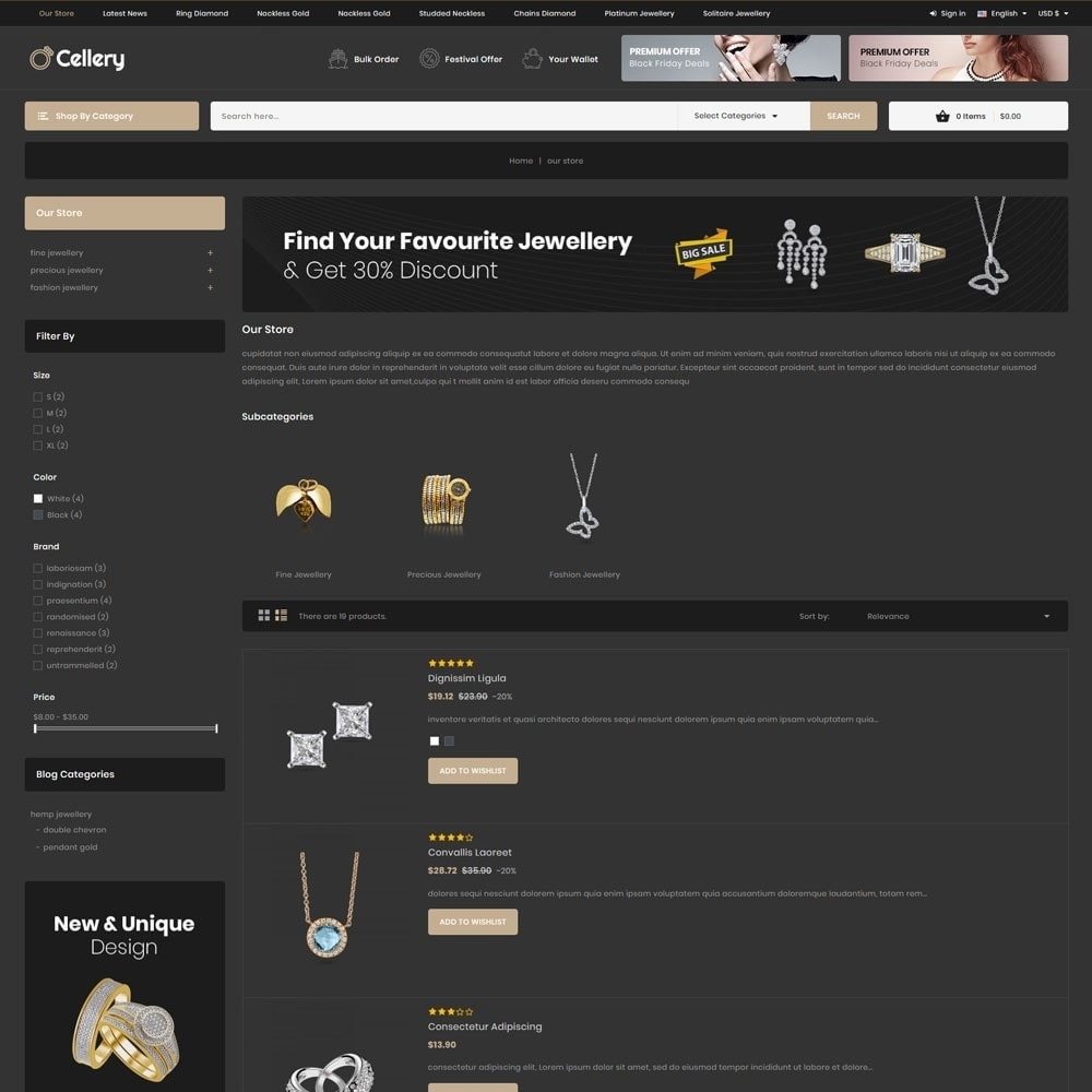 theme - Jewelry & Accessories - Cellery - The Mega Jewellery Store - 6
