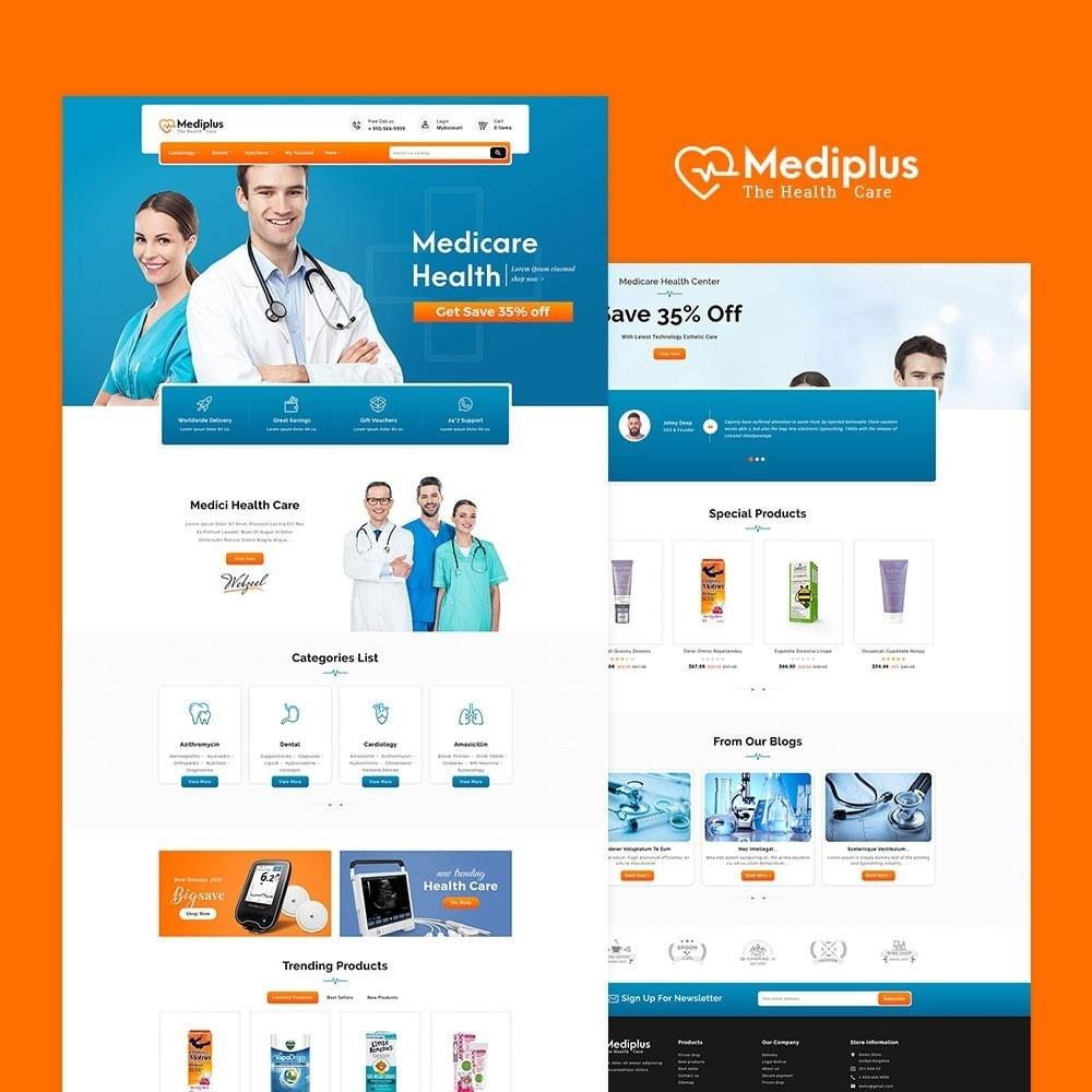 theme - Santé & Beauté - Medi Plus - Drugs & Medicine - 2