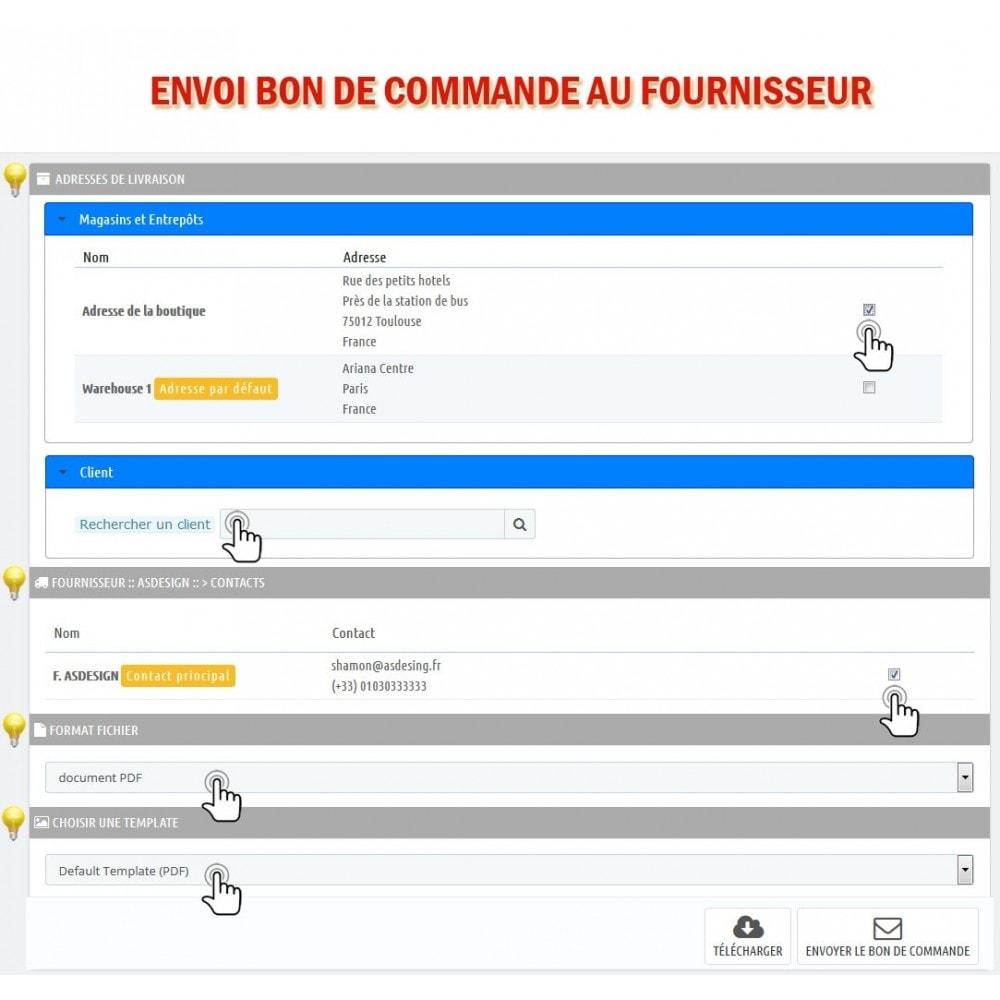 module - Gestion des Commandes - Wk Gestion Commandes Fournisseurs - 11