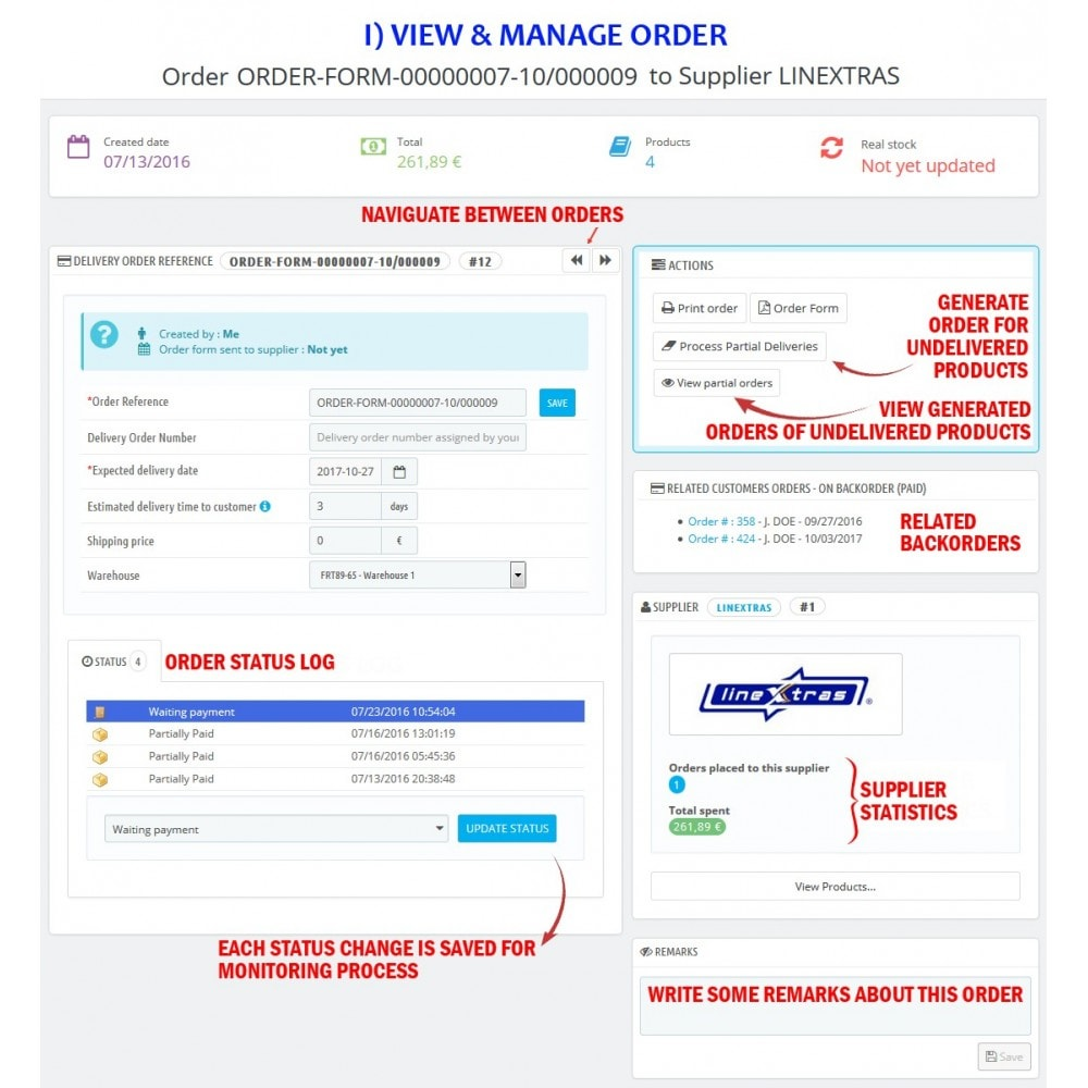 module - Gestión de Pedidos - WK Suppliers Orders Management - 6