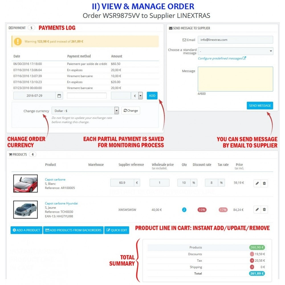 module - Order Management - WK Suppliers Orders Management - 7