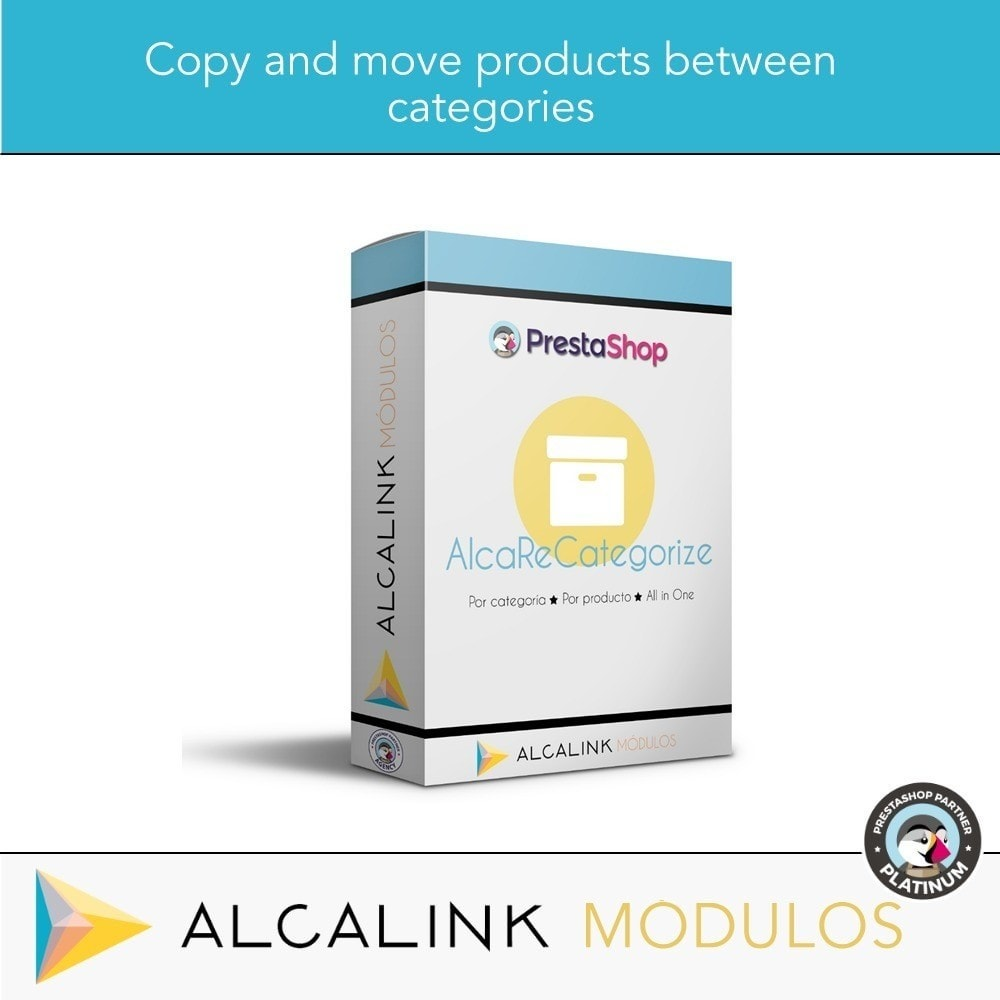 module - Edição rápida & em massa - Copy & Move Products Between Categories - Dropshipping - 1