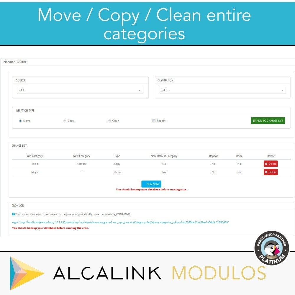 module - Quick Eingabe & Massendatenverwaltung - Copy & Move Products Between Categories - Dropshipping - 2