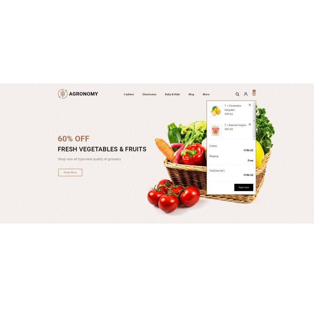 theme - Alimentation & Restauration - Agronomy - Organic Store - 8
