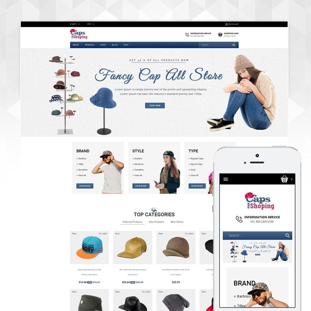 theme - Moda & Calzature - Caps Store - 1