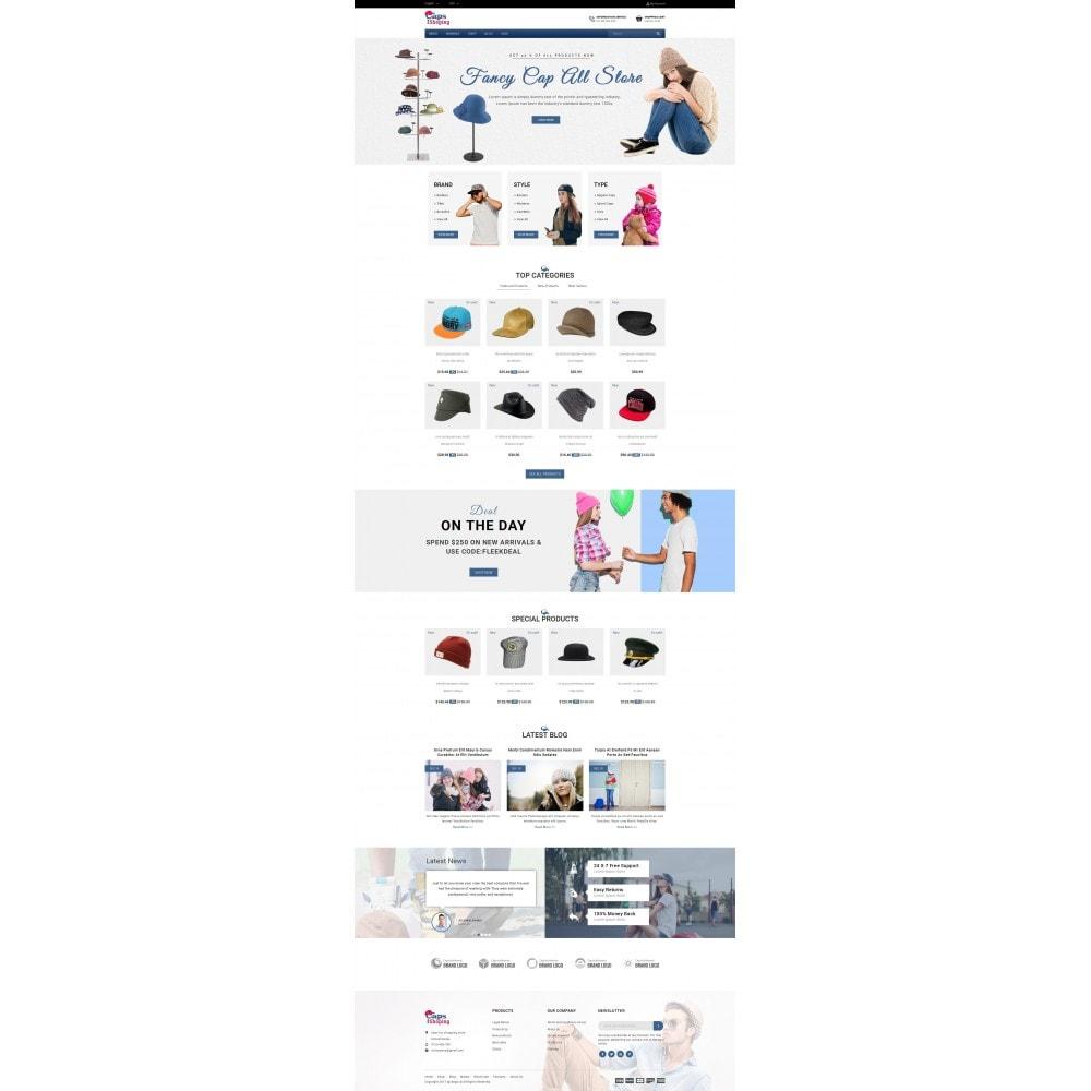 theme - Moda & Calzature - Caps Store - 2
