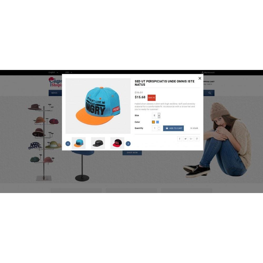 theme - Mode & Schuhe - Caps Store - 7