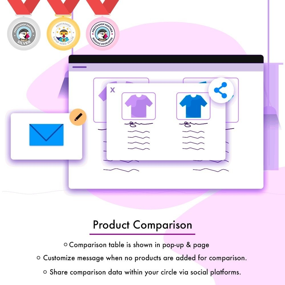 module - Informaciones adicionales y Pestañas - Product Comparison | Compare Attributes and Features - 2