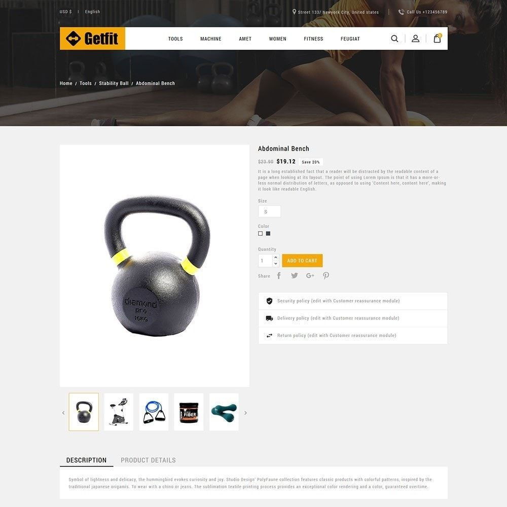 theme - Health & Beauty - Fitness- Gym  Equipment Store - 5