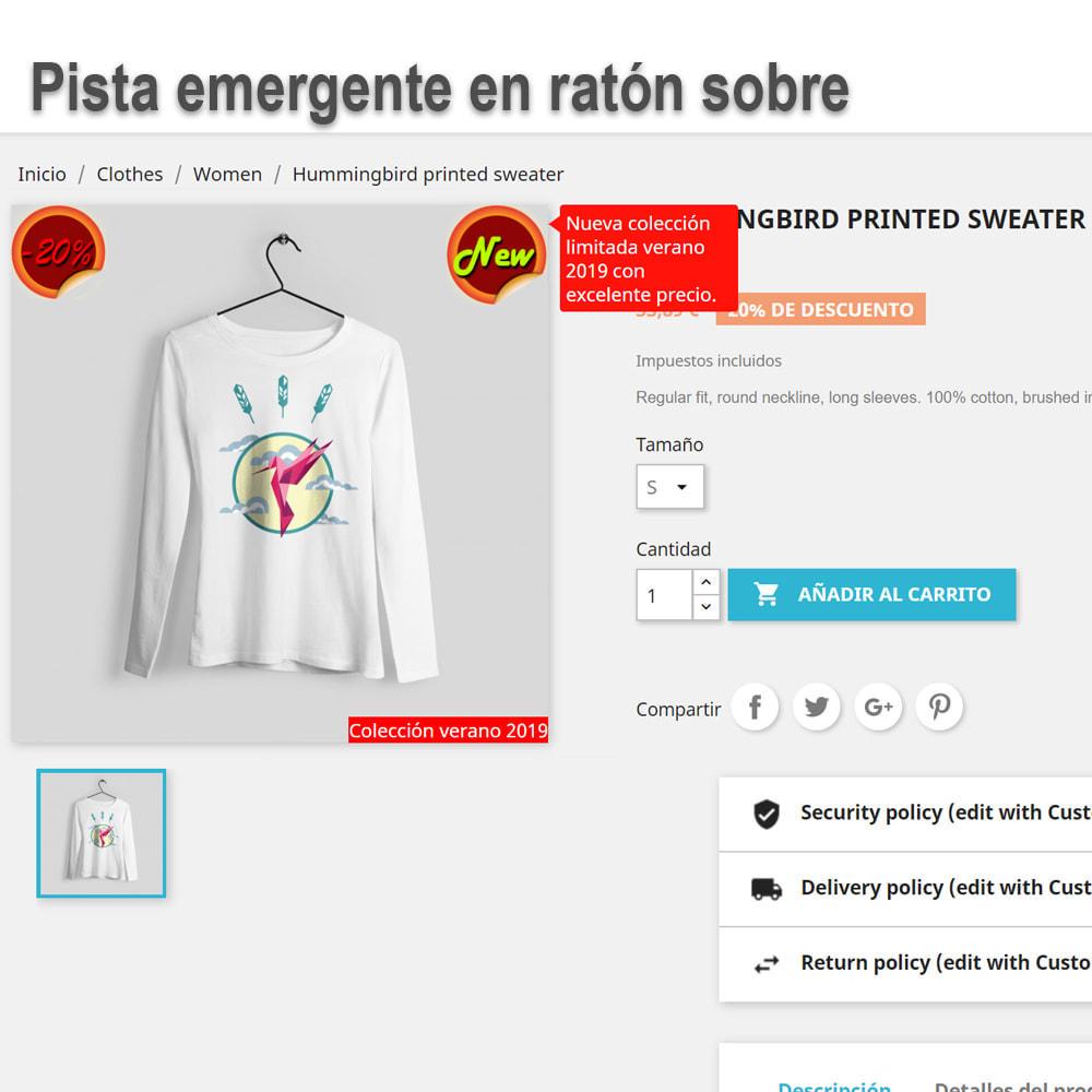 module - Etiquetas y Logos - Pegatinas y etiquetas en los productos - 3