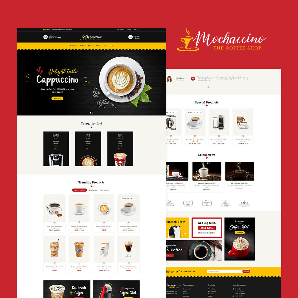 theme - Boissons & Tabac - Mochaccino - Coffee & Drinks - 2