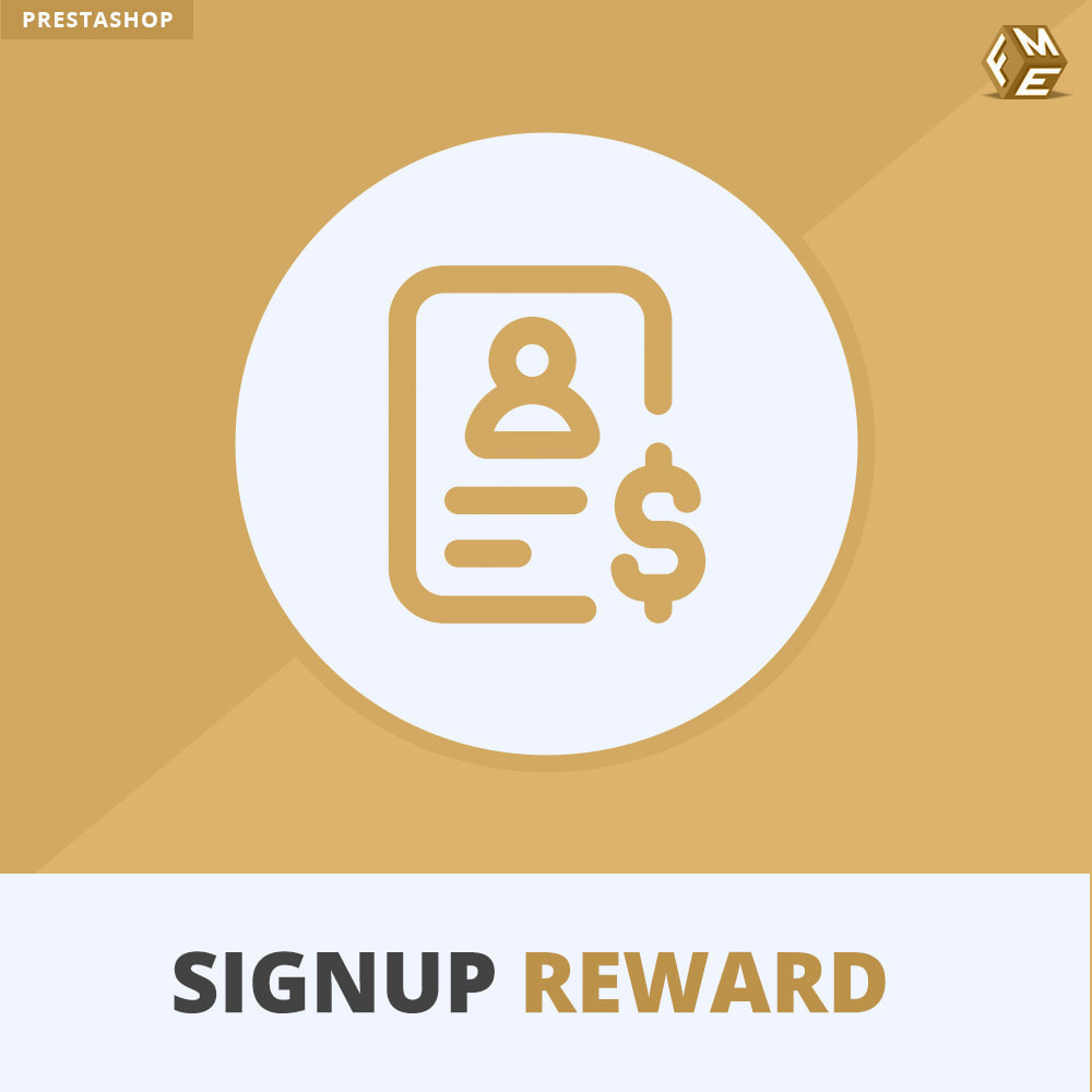 module - Promotions & Gifts - Signup Reward - Offer Discounts Upon Registration - 1