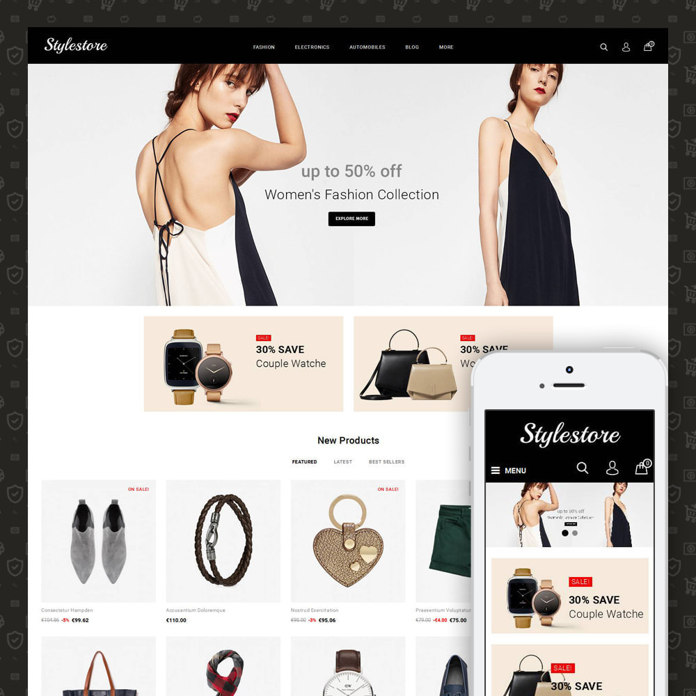 theme - Fashion & Shoes - Unique Style Store - 1