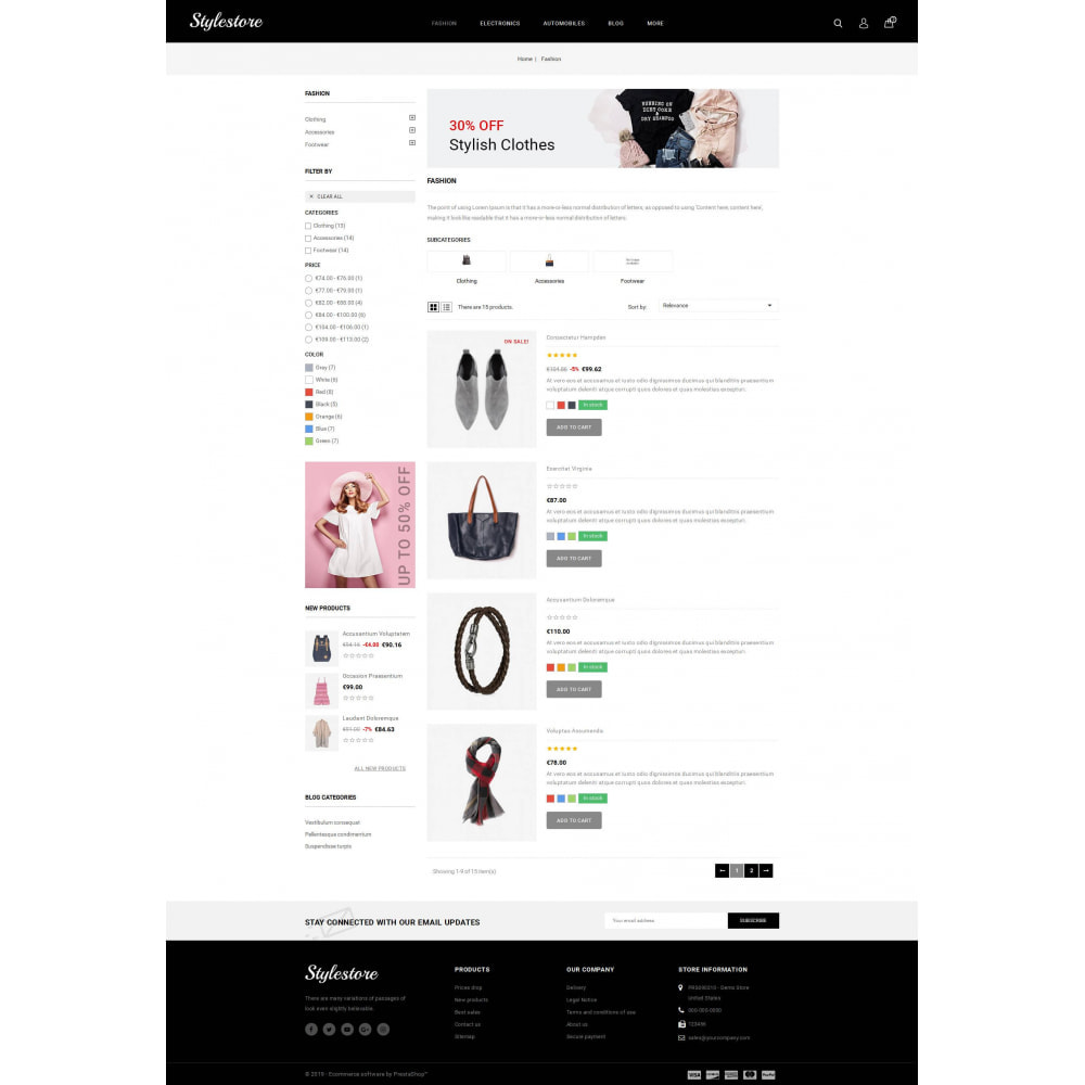 theme - Fashion & Shoes - Unique Style Store - 4