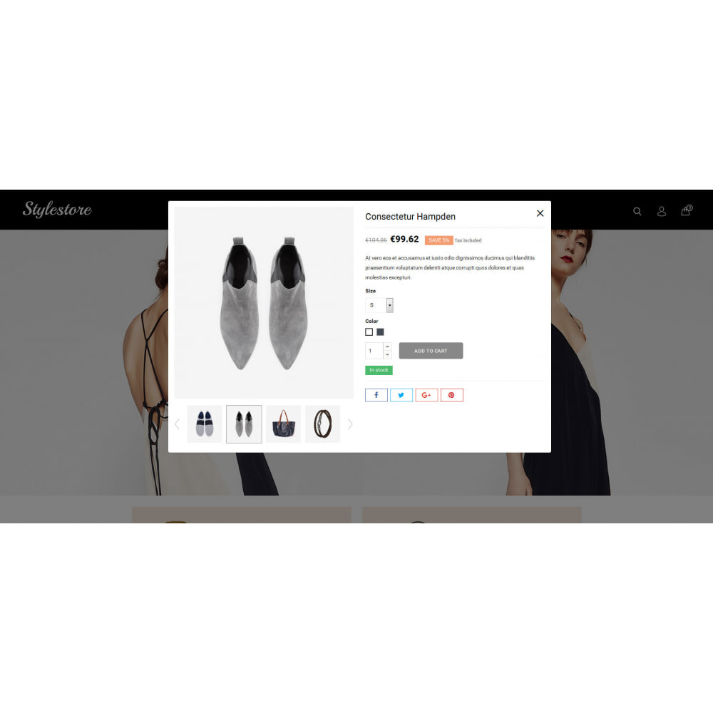 theme - Fashion & Shoes - Unique Style Store - 7