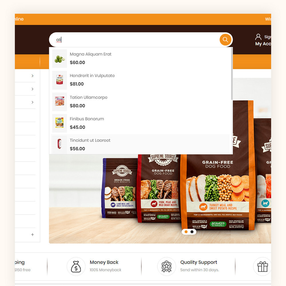 theme - Food & Restaurant - Daily Town Grocery Store - 3