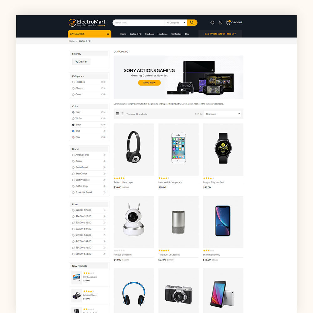 theme - Elektronika & High Tech - Electromart Mega Store - 5