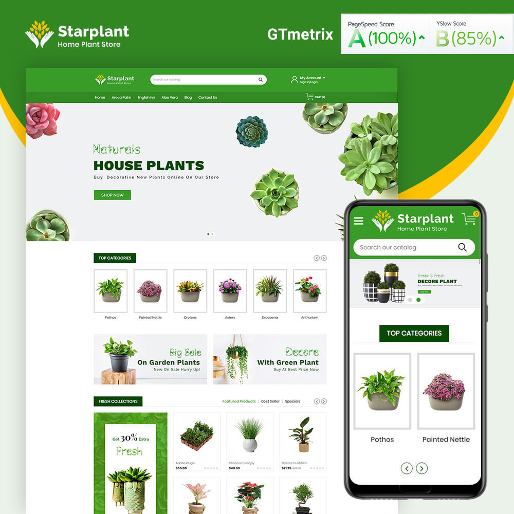 theme - Hogar y Jardín - Starplant Plant Store - 1